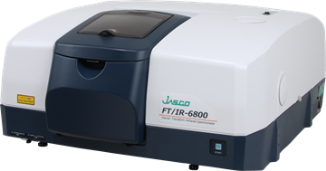 JASCO FTIR spectrometer MODEL 6800