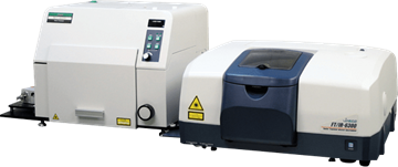JASCO FTIR spectrometer MODEL RFT-6000